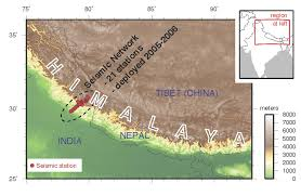 Portland Earthquake Map by Himalayas Pacific Northwest Could See Major Temblors Stanford