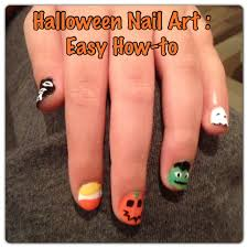 5 easy halloween nail designs beautify themselves with sweet nails