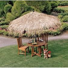 Patio Umbrellas Covers Design Toscano Tropical Thatch Umbrella Cover Patio