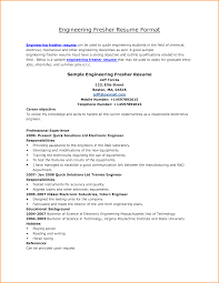 Sample Resume Objectives For Bank Teller by 10 Freshers Resume Samples For Engineers Invoice Template Download