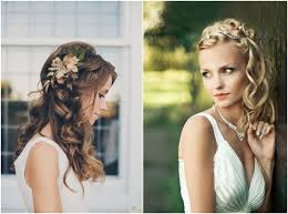 Hochsteckfrisuren Locken Flechten by Lockige Haarverlängerungen Mit Verbessern Ihren Hochzeit