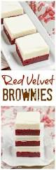 this gooey red velvet brownie cake is seriously moutherwating