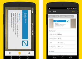 App For Scanning Business Cards Six Android Business Card Scanner Apps For Your Crm Getapp