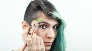 proper way to fill in eyebrows how to fill in eyebrows with pictures wikihow