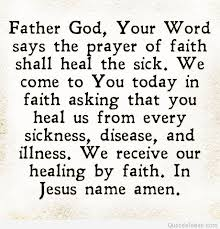 card for sick person god saying quote on card