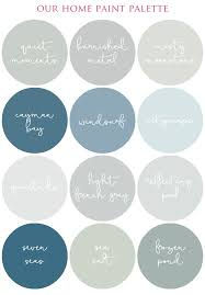 creating a smooth flowing color palette in your home i heart