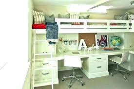 Bunk Bed With Desk And Dresser Loft Bed With Desk Bunk Bed With Dresser Underneath Desk For