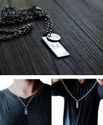 Personalized Mens Necklaces Mens Necklace Woman Necklace Personalized Gifts Personalized