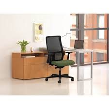 Hon Adjustable Height Desk by Hon Voi Small Footprint L Station Atwork Office Furniture
