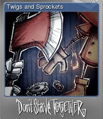 image don t starve together twigs and sprockets foil png