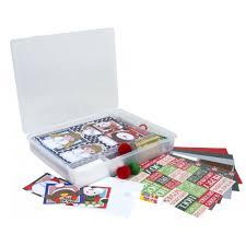 buy childrens kids christmas card making set kids card making set