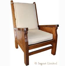 robert mouseman thompson classic oak adzed smoking chair ingnet