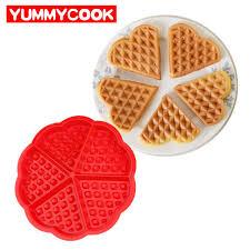 Aliexpress Com Buy Family Silicone Waffle Mold Maker Pan