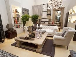 living room french country design rectangle nice beige unfinished