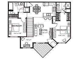 garage apartment plans 2 bedroom 2 bedroom garage floor plans nikura