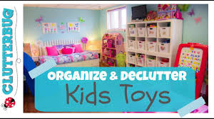 organize and declutter toys with me youtube