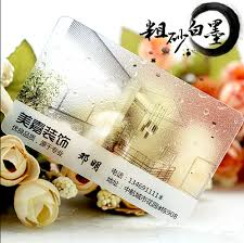 Plastic Business Card Printing Online Get Cheap Clear Plastic Business Cards Aliexpress Com