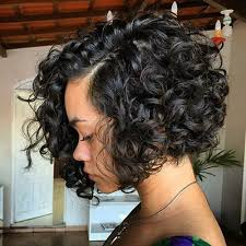 angled bob for curly hair 40 different versions of curly bob hairstyle