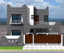 Indian House Designs Modern House Design In Pakistan Small House
