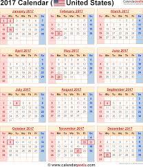 2017 us calendar printable 2017 calendar with holidays monthly calendar 2017