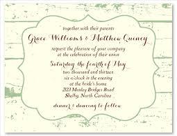 Shabby Chic Wedding Invitations by Shabby Chic Wedding Invitations On White Seeded Paper La Grange