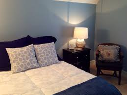 Silver Painted Furniture Bedroom Guest Bedroom Redo Sw Dockside Blue On Walls Black Painted