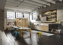 italian kitchen furniture by snaidero easily personalized loft kitchen design in industrial style by