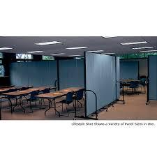 screenflex freestanding portable room divider 11 panels 4