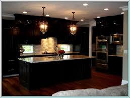 Espresso Cabinets With Black Appliances Kitchen Cabinets Espresso Finish Interior Design