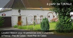 location maison nord particulier 3 chambres location maison à frencq iha 65844