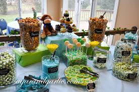 baby shower candy table for baby shower archives sugar garlic