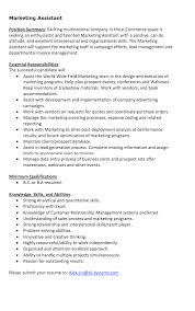 Marketing Assistant Resume Sample Unique Resume Sles 28 Images Free Resume Templates Resume