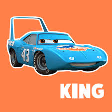 draw king disney pixar u0027s cars easy step step