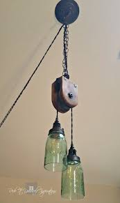 diy pulley light fixture redo it yourself inspirations diy