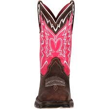 womens size 11 pink cowboy boots durango s pink ribbon cancer benefit boots