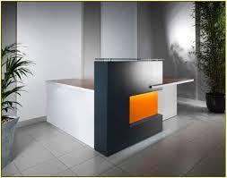 White Curved Reception Desk Curved Reception Desk Home Design Ideas