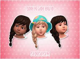 childs hairstyles sims 4 the sims 4 toddlers custom content already available sims community