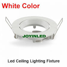 Halogen Ceiling Light Fixtures by White Ceiling Lamp Holder Gu10 Mr16 Led Spot Light Fixture Halogen