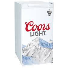 coors light beer fridge light bottle opener mini fridge