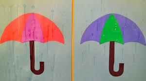 rain art craft
