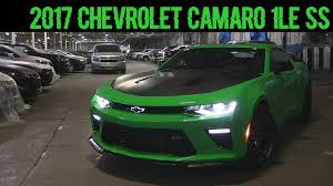green camaro ss 2017 chevrolet camaro ss 1le start up rev and look dan