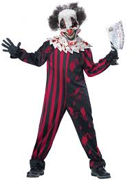 scary clown costumes scary clowns boys fancy dress horror joker circus kids