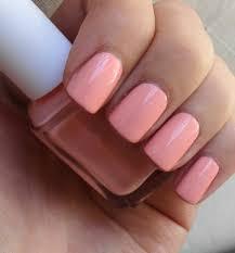 essie van d u0027goh a beautiful peachy pink nail polish love