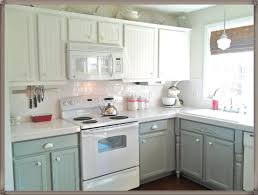 Two Tone Kitchen Cabinet by Outstanding Two Color Kitchen Cabinets Pictures Images Design
