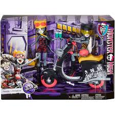 monster high werecats sisters and scooter walmart com