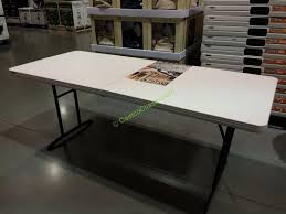 6ft Folding Table Costco Decorating Creative Of Lifetime 6 Foot Folding Table