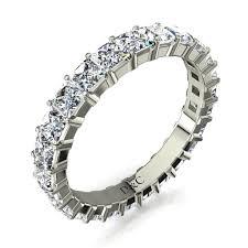 alliance en diamant alliance diamant princesse anneau diamant griffes pour femme or