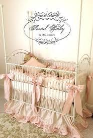 Baby Crib Bedding For Girls by Best 20 Custom Baby Bedding Ideas On Pinterest Navy Crib Skirt