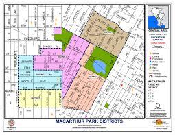 Los Angeles Neighborhood Council Map by Area Boundaries And Map Macarthur Park Neighborhood Council
