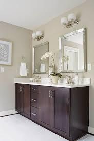 Painted Bathroom Vanity Ideas by Painting Bathroom Cabinets Chocolate Brown Painting Bathroom